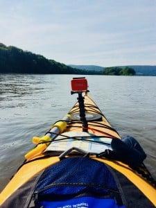GoPro Mount on Kayak