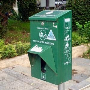 Dog waste disposal