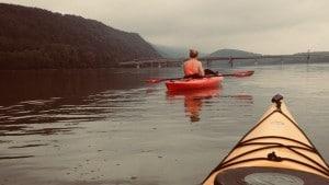 River Kayak Camping